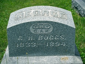 George H. Boggs, Cedar Hill Cemetery, Newark, Ohio